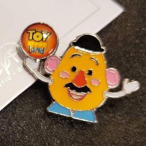 2/$18 Disney Shanghai Toy Story Mr. Potato Pin